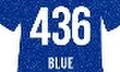ポリ・フレックス イメージ グリッター ブルー【436】500mm幅