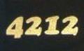 ポリ・フレックス ファッション メタリックゴールド【4212】500mm幅