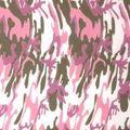 Flex Fashion(デザインPU)アーミーピンク 500mm幅
