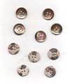 ヨーロッパのアンティーク貝ボタン<15mm・四穴>