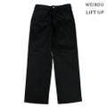 "weirdo19SS LIFT UP  W&L Pants""BLACK"""