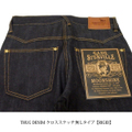 GANGSTERVILL THUG_DENIM RIGID【INDIGO】【BLACK】