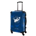 スーツケースL:バレヌブルー・シャチ