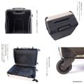 スーツケースL:バレヌブルー・ザトウ