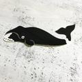 ◎ダイカットステッカー:ホッキョククジラ