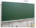 大型黒板 W3600×H900(スチールグリーン無地)