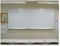 W2700×H1200大型ホワイトボード(ホーロー無地)