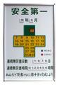 SI-900T 安全表示板