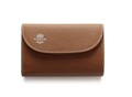 S7660 3 FOLD WALLET-London Calf-TAN × HAVANA