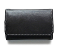 S9084 COIN PURSE Regent Bridle BLACK×NAVY