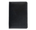 S7412 NAME CARD CASE Regent Bridle BLACK×NAVY