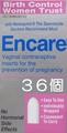女性用避妊具Encareエンケア (36個)~Hの前に入れるだけ。生、中出しでも避妊。