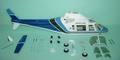 FUN-KEY アグスタ109A  Blue    EP550-600(GP50)クラス用ボディ※予約受付