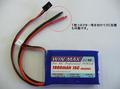 WIN MAX7.4V1900mA受信機用リポ