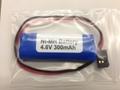 4.8V-300mAh受信機用ニッケル水素電池