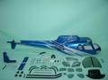 Fun-key AS350 Silver & Blue EP550-600(GP50)クラス用ボディ※予約受付