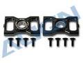 HN6068T メインシャフトベアリングブロック 黒 メタル製