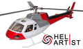 HeliArtist AS350 (RED)