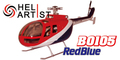 HeliArtist BO105 (RED)