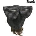 耳ポケット猫耳帽子