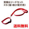 ハンドメイド首輪・リードセットXS 猫・超小型犬用(体重~5kg)