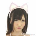 猫耳カチューシャ(ピュアピンク)