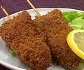串カツ(牛肉とたまねぎ)