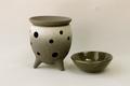 黒陶茶香炉またはアロマポット
