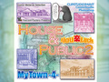 マンガ背景素材集「You楽Luck」「MyTown-4- House&Public2」