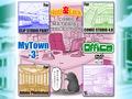 マンガ背景素材集「You楽Luck」「MyTown-3- Office」