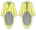 女性用燕尾服の型紙 婦人M