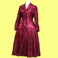 テーラードカラーのコートの型紙 婦人Lサイズ