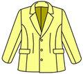 男性キャラクターの雰囲気を出したい女性の為の 男装用テーラードジャケットの型紙 婦人M
