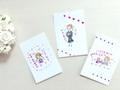 勇気づけポストカード3枚セット 【girls B】