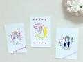 勇気づけポストカード3枚セット【watashi A】