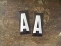 ホーロー製アルファベットプレートA