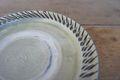 小鹿田焼きグリーン六寸皿(B)