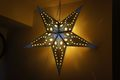 星形ペーパーランプシェード(青)