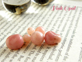 ネックレス*がっつりメッセージ付き*人生での必要な出会いを加速する!ピンクオパールのオーダーメイドアクセサリー