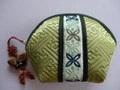 韓国伝統工芸「ミニポーチ・黄緑色」