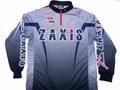 ZAXISトーナメントドライシャツ グレー