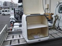 【中古】JMS製ピザBOX・棚板付き・塗装剥げ有り