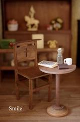 シンプルチャーチチェアー&テーブル