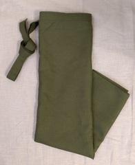 緑 巻きスカート
