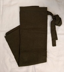 巻きスカート 深緑
