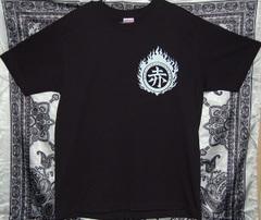 赤煙突同志Tシャツ(黒)