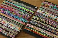 手染め素材糸 各5m×10種セット