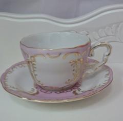 プリンセスカップ&ソーサー(ピンク)