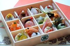 開運手まり寿司