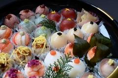 No,160手まり寿司盛り